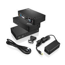 Lenovo Thinkpad USB 3 0 pro Dock 40a70045eu, T460, P71, P72, X1 Carbonio (4  °