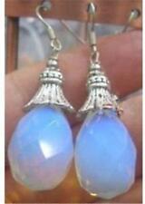 Stunning!Sri Lanka Moonstone Earring 12x16mm AAA Silver Hook