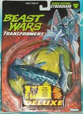 TRANSFORMERS BEAST WARS ORIGINAL CYBERSHARK FIGURE MOC