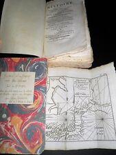 PERNETTY DOM Voyage aux Isles Malouines 2T 18 PLANCHES ET CARTES COMPLET 1770