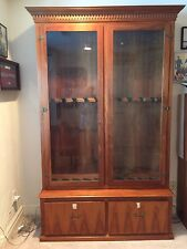 Rifle Gun Cabinets With Display Cases Ebay
