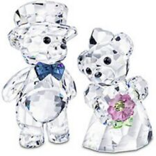 "SWAROVSKI CRYSTAL -KRIS BEARS  ""YOU AND I""  BRIDE & GROOM  842936 MINT IN BOX"