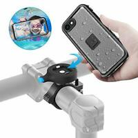 SOKUSIN Metal Bike Phone Mount,Waterproof Bike Bicycle Case Holder for iPhone