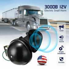 300db 12v Electric Snail Air Horn Loud Sound For Car Motorcycle Truck Boat Us