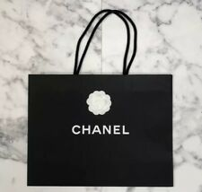 """Authentic Chanel XL Size Black Gift or Storage Shopping Tote Bag 17"""" x 13"""" x 6"""""""