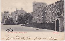Old postcard of North Terrace, Windsor Castle