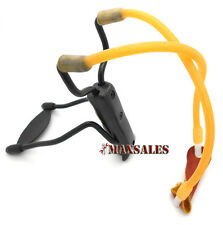 Folding Wrist Sling Shot High Velocity Powerful Slingshot Outdoor Hunting Tools