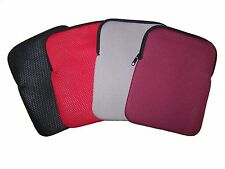 "9.7"" Tablet Sleeve - iPad Case - Textured Neoprene - Gray"