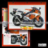 #009.02 Fiche Moto YAMAHA YZF R7 OW-02 (OW02) SUPERBIKE 1999 Motorcycle Card