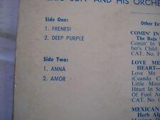 Eric Jupp Vinyl EP Record Frenesi - Festival FX-10,998 Blue/White Label