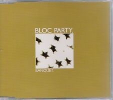 Bloc Party - Banquet - Deleted UK 3 track CD