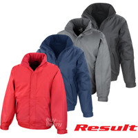 RESULT BOMBER JACKET WINDPROOF WATERPROOF WADDING FLEECE LINING COAT MEN'S S-4XL