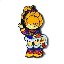 Girl Pendant Lapel Hat Pin Adorable Rainbow Brite Collectible Magical