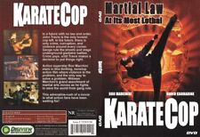 Karate Cop Martial Law At Its Most Lethal  DVD NEW SEALED RARE OOP Free Shipping