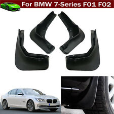 4pcs Car Mud Flaps Splash Guards Fender Mud Guards for BMW 7 Series 2009-2016