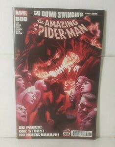 Amazing Spider-Man 800 (2018 MARVEL)[1ST APPEAR OF NORMIE AS GOBLIN CHILDE] NM+