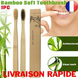 Brush Tooth Bamboo Natural Coloured Whitening Soft Coal Eco Friendly Vegan
