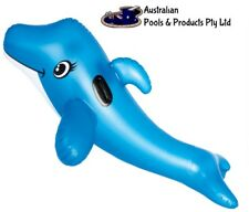 pool Inflatable Dolphin rider Fish Swimming Pool Beach Party Kids Toy Prop fun