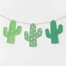1set Cactus Garland Banner For Bunting Garland Party Favors Home DecorationMAEK