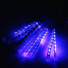 Meteor Shower Falling Rain Drop Icicle Snow LED Xmas Tree Party String Lights