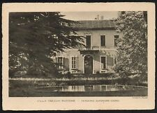 AD1736 Lecco - Provincia - Verderio Superiore - Villa Gnecchi Ruscone