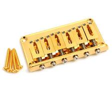 Gotoh Gold Hardtail 6-string Guitar Bridge SB-5115-002