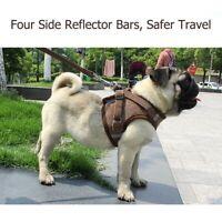 Dog Leash Harness Vest Adjustable Durable for Small Medium Large Pet Dog Walk
