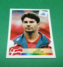 N°216 JAN HEINTZE DANEMARK DANMARK PANINI FOOTBALL FRANCE 98 1998 COUPE MONDE WM