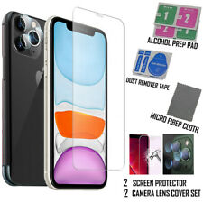 """Screen Protector and Camera Lens Cover for iPhone 11 Pro Max I Pack of 4 (6.5"""")"""