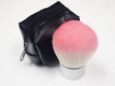 Cosmetic Pink Kabuki Brush Case Black pouch Synthetic Fiber Carry Easy new