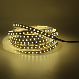 5m 600 LED strip light 2835 SMD CRI>90 non waterproof 120 LED/M tape lamp white