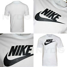 Nike Icon Futura Men's Athletic Cut Crew Neck T-shirt White - M