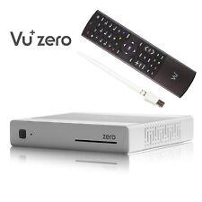 Vu+ Plus Zero E2 Linux HD Récepteur Satellite Blanc 1x DVB-S2+300Mbit Clé WLAN