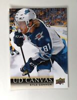 2018-19 18-19 UD Upper Deck Series 2 Canvas #C208 Kyle Connor