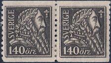 Sweden 1921 140ö Gustavus Vasa 400th Anniversary of Liberation of Sweden Pair MH