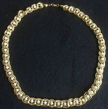 """Gold Faux Pearl Necklace Beautiful statement piece  VALENTINE'S DAY GIFT 24"""""""