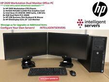 HP Z420 Workstation Intel Xeon E5-2650 2.0GHz 32GB Nvidia Quadro NVS 300