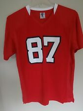 NWOT NC State Wolfpack # 87 Football Jersey Youth Large 12/14 by Knights Apparel