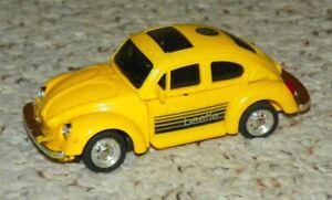 Super GoBots - Bug Bite - VW Beetle Robot Figure - Vintage 1980's Toy