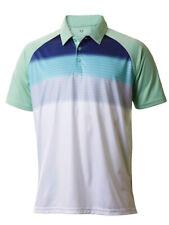 Oakley Lyndon Polo Mens Size S Small Bay Green White Casual T-shirt Tee Shirt