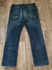 Diesel Viker D Regular Fit Straight Leg Distressed Mens Jeans Button Fly 30 X 28