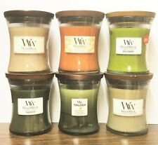 WoodWick Candles MEDIUM VASE JARS 9.7 oz 10 oz Soy Wax Yankee Candle - 7 CHOICES