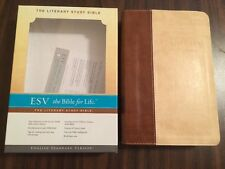 ESV Literary Study Bible - $64.99 Retail - Brown / Parchment Archive Trutone