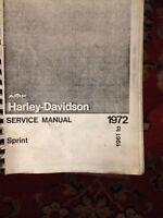 HARLEY-DAVIDSON WORKSHOP MANUAL REPAIR SERVICE  HD THE BEST MONEY CAN BUY