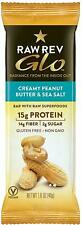 Glo Bar, Raw Revolution, 12 bars Creamy Peanut Butter & Sea Salt
