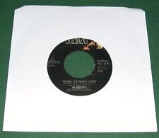 ALABAMA - When We Make Love / Carolina Mountain Dew (45 RPM Single, 1984) VG+