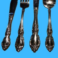 Oneida LOUISIANA Stainless Glossy Flatware Silverware CHOICE