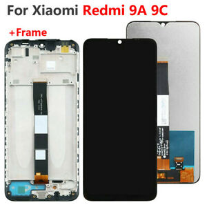 For Xiaomi Redmi 9A 9C Screen Replacment 6.53 LCD Display Touch Digitizer Frame
