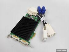 PNY NVIDIA Quadro NVS 440 256mb PCI-E 2xdvi 2xvga NUOVA