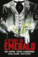 Neil Gaiman's A Study in Emerald [New Book] Graphic Novel, Hardcover